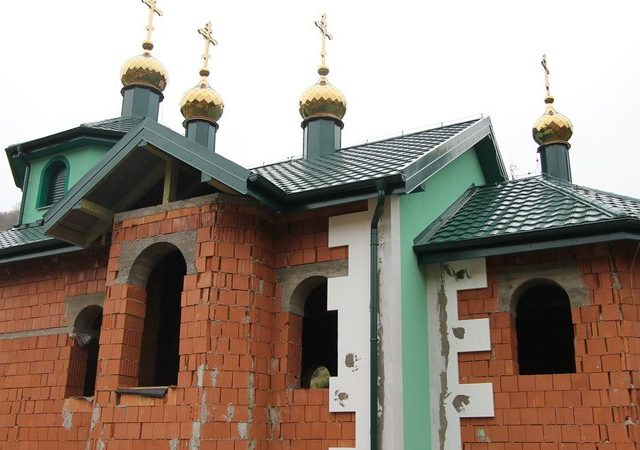 Strecha Chrám Krajné