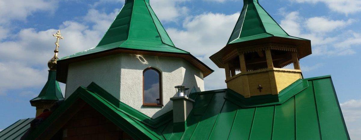 Strecha Chrám Nova Baňa 2015