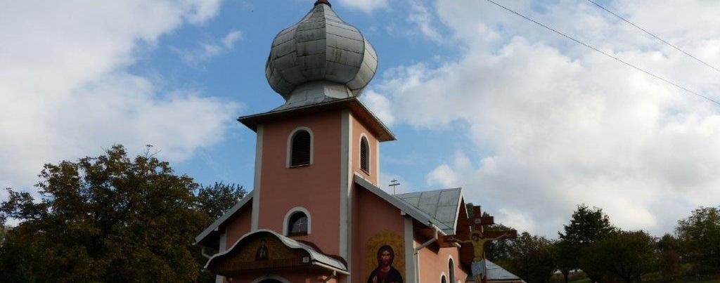 Strecha na chráme Kručov