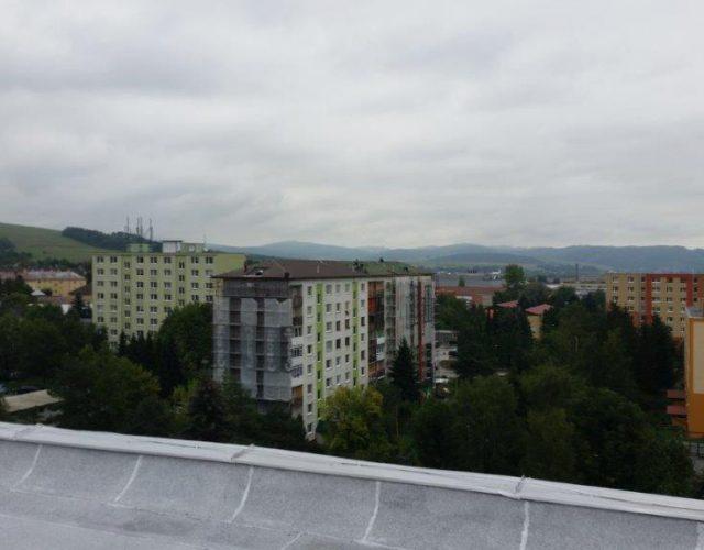 stavba Strecha BD Stropkov
